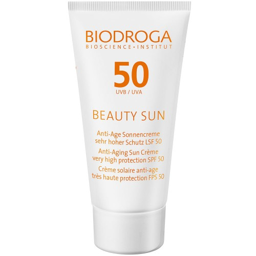 BIODROGA BEAUTY SUN Anti-Age Sonnenreme LSF 50 50 ml