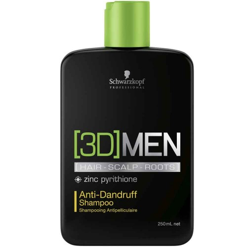 Schwarzkopf 3D Men Anti-Dandruff Shampoo 250 ml