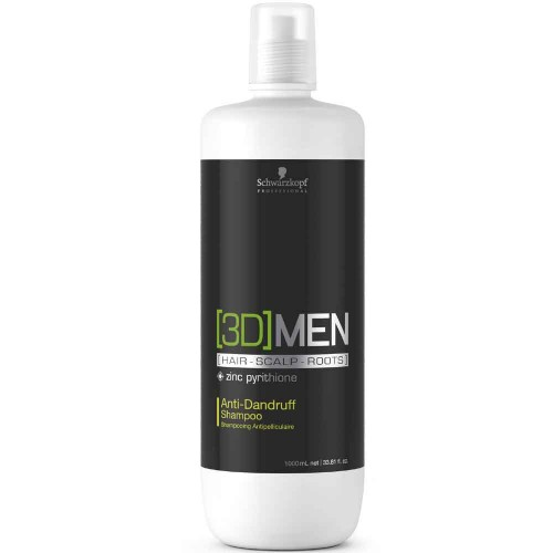 Schwarzkopf 3D Men Anti-Dandruff Shampoo 1000 ml