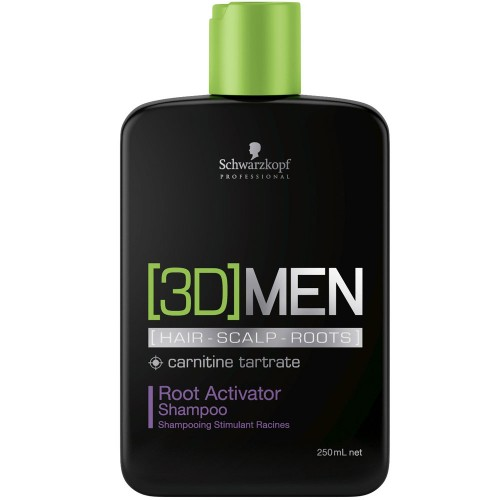 Schwarzkopf 3D Men Activating Shampoo 250 ml