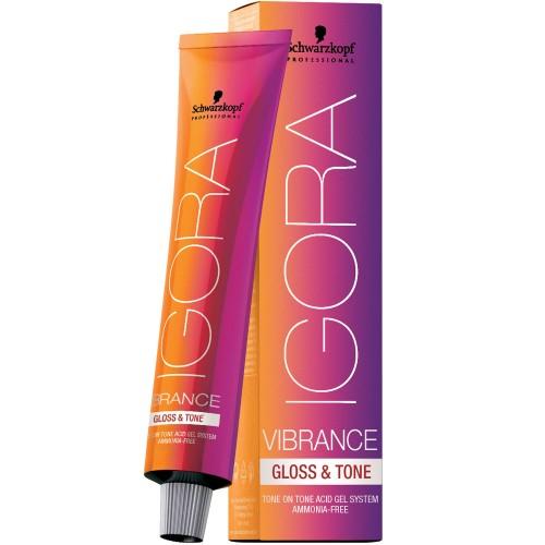 Schwarzkopf Igora Vibrance Gloss & Tone 6-99 Dunkelblond Violett Extra 60 ml