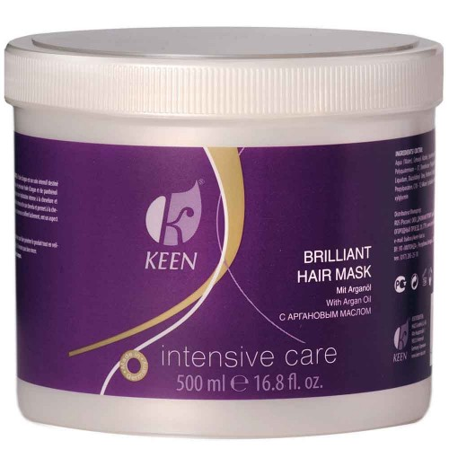 KEEN Brilliant Hair Mask mit Arganöl 500ml