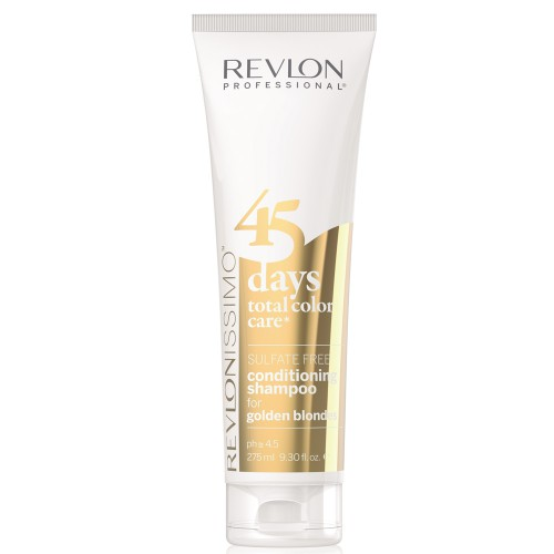 Revlon Revlonissimo 45 Days Golden Blondes 2 in 1 Shampoo & Conditioner 275 ml