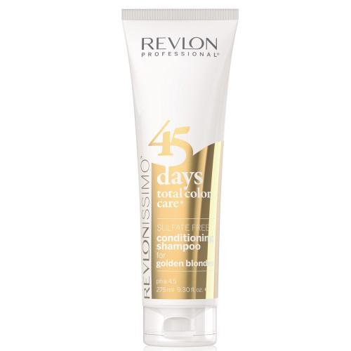 Revlon Revlonissimo 45 Days Golden Blondes 2 in 1 Shampoo & Conditioner 275 ml