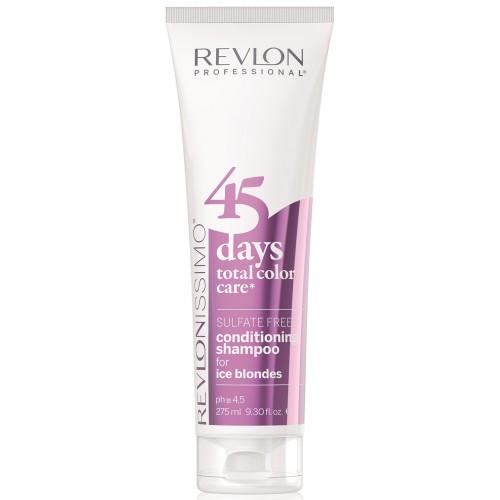 Revlon Revlonissimo 45 Days Ice Blondes 2 in 1 Shampoo & Conditioner 275 ml