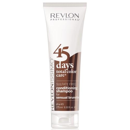 Revlon Revlonissimo 45 Days Sensual Brunettes 2 in 1 Shampoo & Conditioner 275 ml
