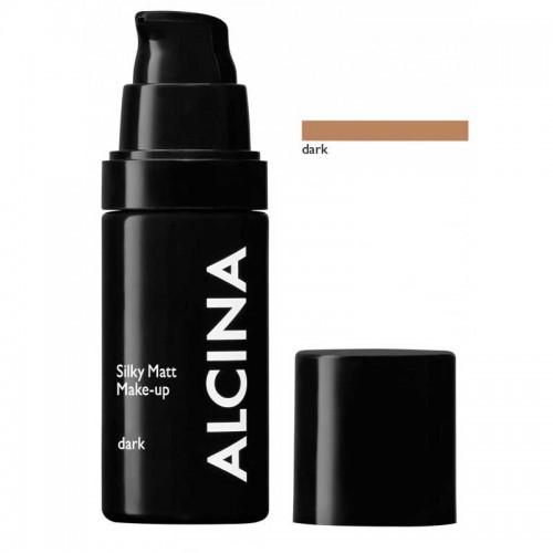 Alcina Silky Matt Make-up dark 30 ml