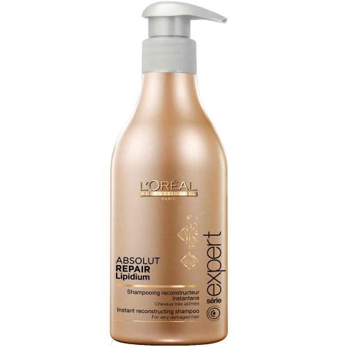 L'Oréal Serie Expert Absolut Repair Lipidium Instant Reconstructing Shampoo 500 ml