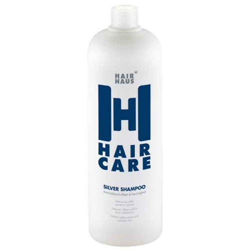 HAIR HAUS Haircare Color Silver Shampoo 1000 ml