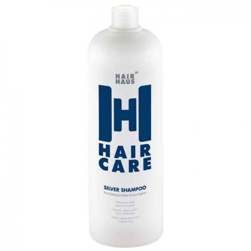 HAIR HAUS Haircare Color Silver Shampoo 1000 ml