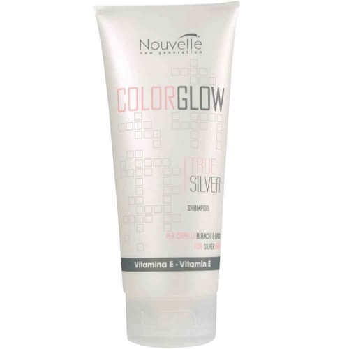 Nouvelle COLOR GLOW True Silver Shampoo 200 ml