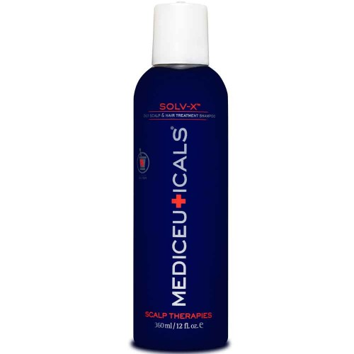 Mediceuticals Solv-X Oily Scalp & Hair Treatment Shampoo 360 ml