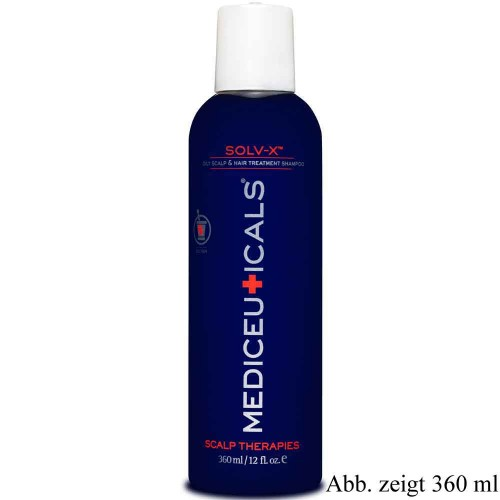Mediceuticals Solv-X Oily Scalp & Hair Treatment Shampoo 1000 ml