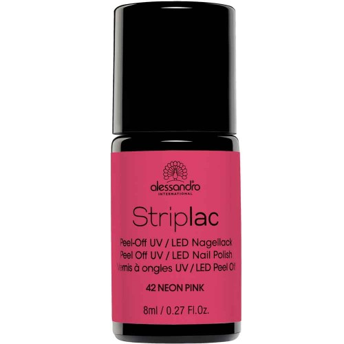 alessandro International Striplac 42 Neon Pink 8 ml