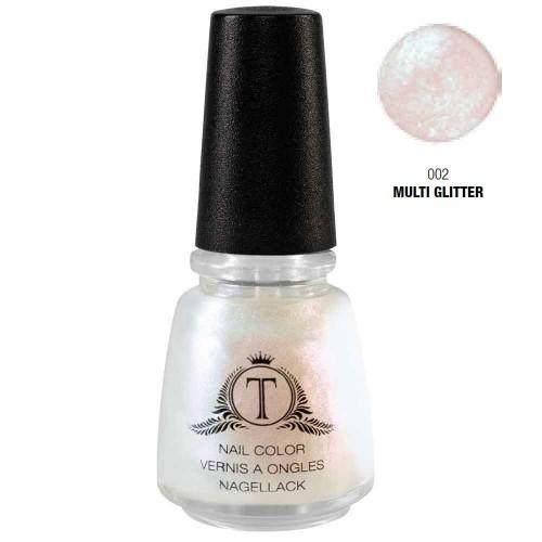 Trosani Topshine Nagellack 002 Multi Glitter 17 ml