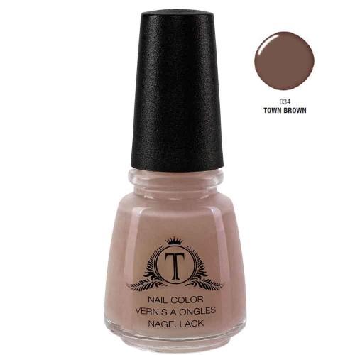 Trosani Topshine Nagellack 034 Town Brown 17 ml