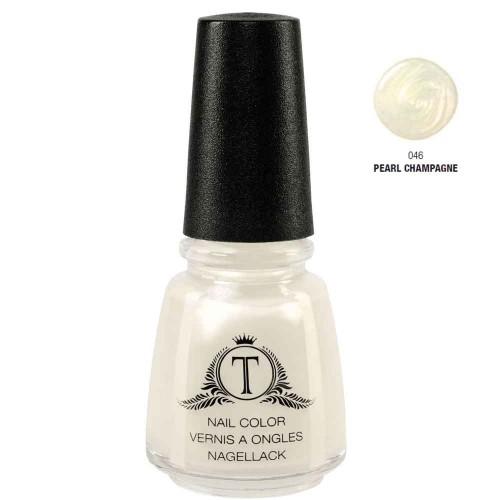 Trosani Topshine Nagellack 046 Pearl Champagne 17 ml