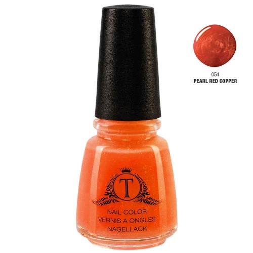 Trosani Topshine Nagellack 054 Pearl Red Copper 17ml