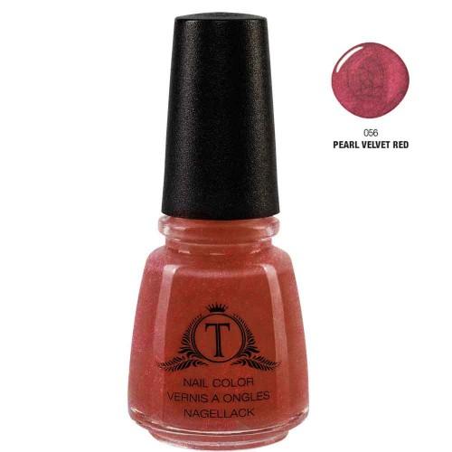 Trosani Topshine Nagellack 056 Pearl Velvet Red 17 ml