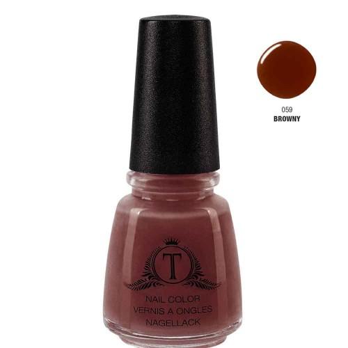 Trosani Topshine Nagellack 059 Browny 17 ml