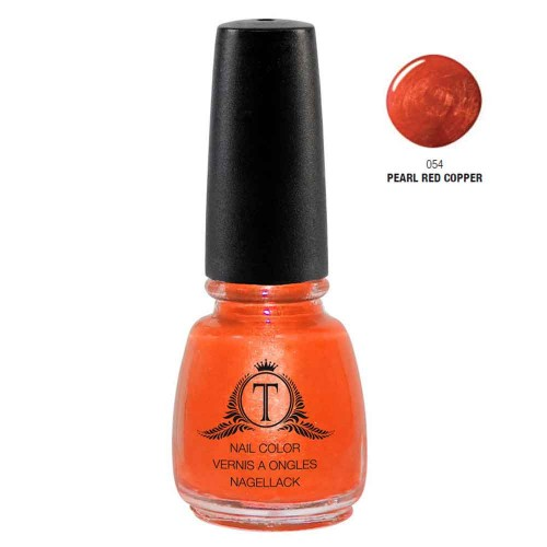 Trosani Topshine Nagellack 054 Pearl Red Copper 5 ml