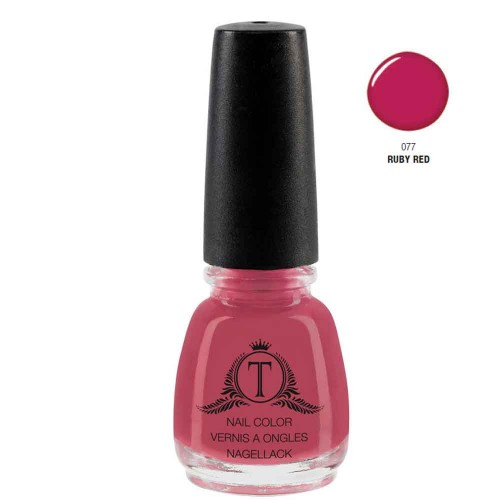 Trosani Topshine Nagellack 077 Ruby Red 5 ml