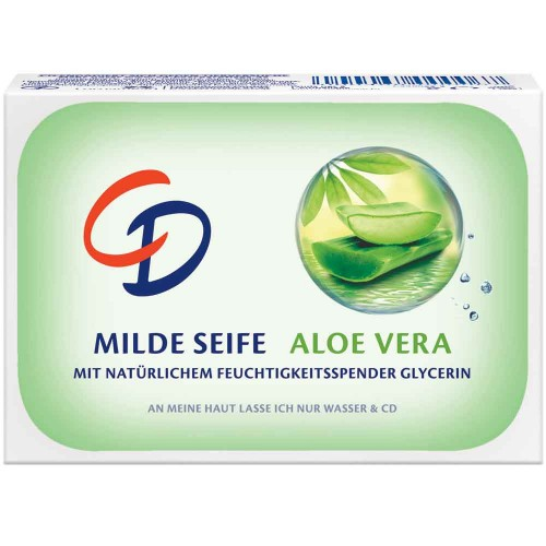 CD Milde Seife Aloe Vera 125 g