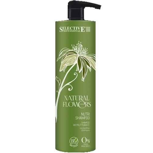 Selective Natural Flowers Nutri Shampoo 1000 ml