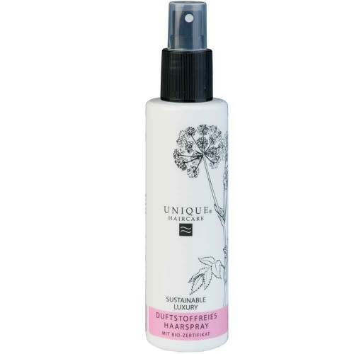 Unique Beauty Haircare Styling Duftstoffreies Haarspray 150 ml