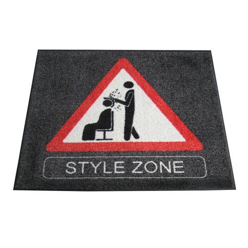 Trend-Design Türmatte Style Zone