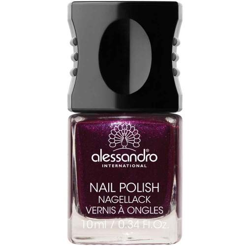 alessandro International Nagellack 90 Purple Purpose 10 ml