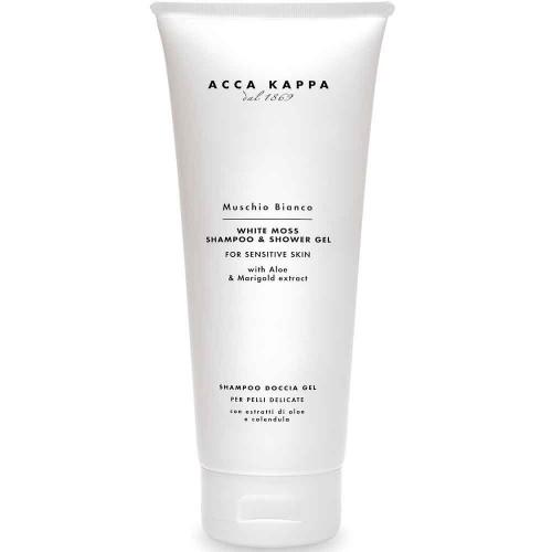 Acca Kappa White Moss Showergel & Shampoo 200 ml