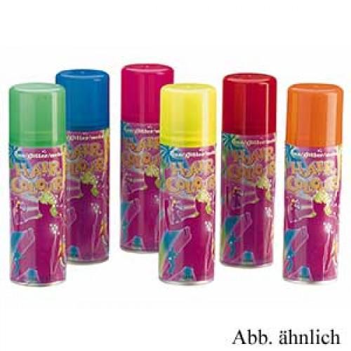 Comair Hair Color Farbspray Glitter rot 125 ml