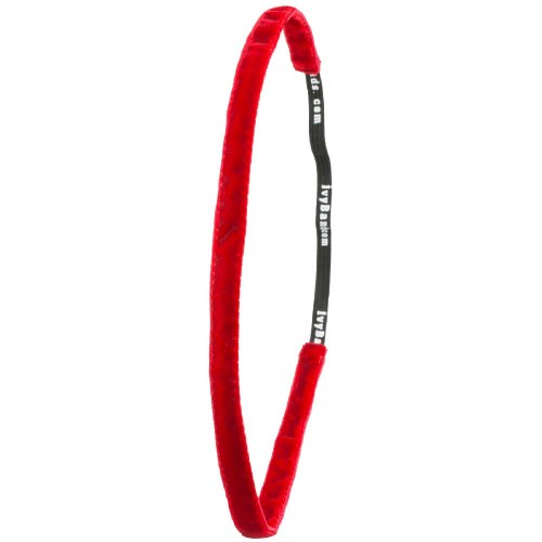Ivybands Klassisch Rotes Super Thin Haarband