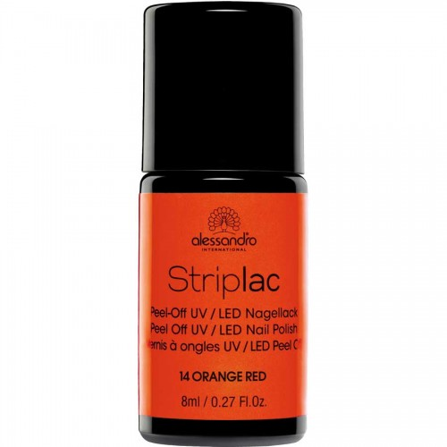 alessandro International Striplac 14 Orange Red 8 ml