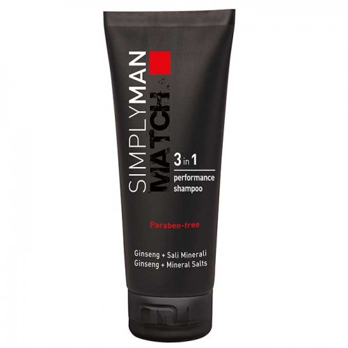 Simply Man 3 in 1 Shampoo 200 ml