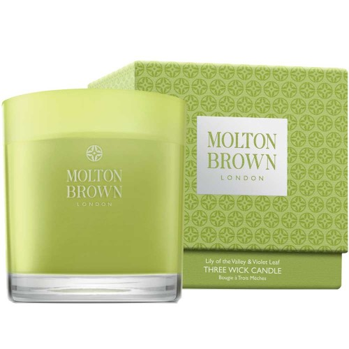 Molton Brown HOME Lily of the Valley & Violet Leaf Three Wick
