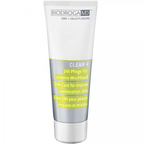 Biodroga MD Clear+ 24h Pflege für unreine Mischhaut 75 ml