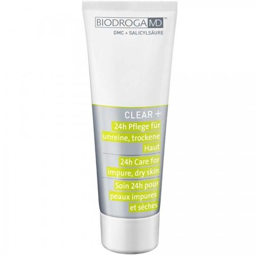 Biodroga MD Clear+ 24h Pflege für unreine, trockene Haut 75 ml