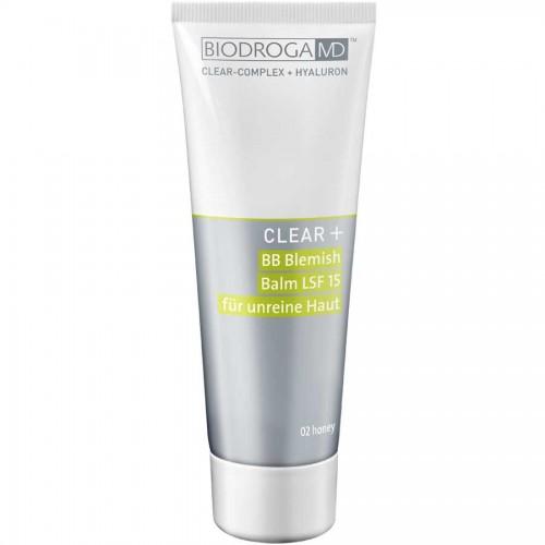 Biodroga MD Clear+ BB Blemish Balm LSF 15 02 honey 75 ml
