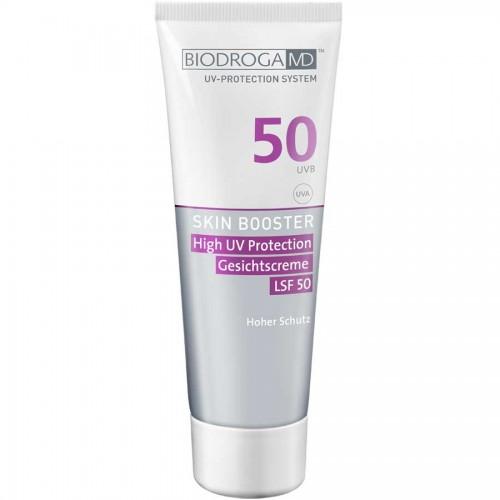 Biodroga MD Skin Booster High UV Protection Gesichtscreme LSF 50 75 ml