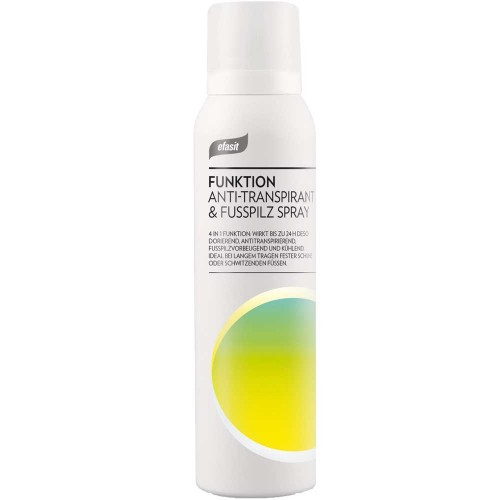 efasit FUNKTION Anti-Transpirant & Fusspilz Spray 150 ml