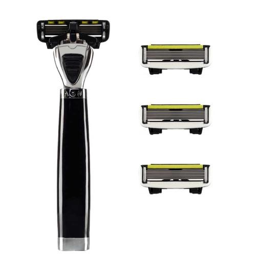 Shave-Lab Starter Set AON Black P.6 Men