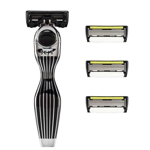 Shave-Lab Starter Set Seis Black P.6+1 Men