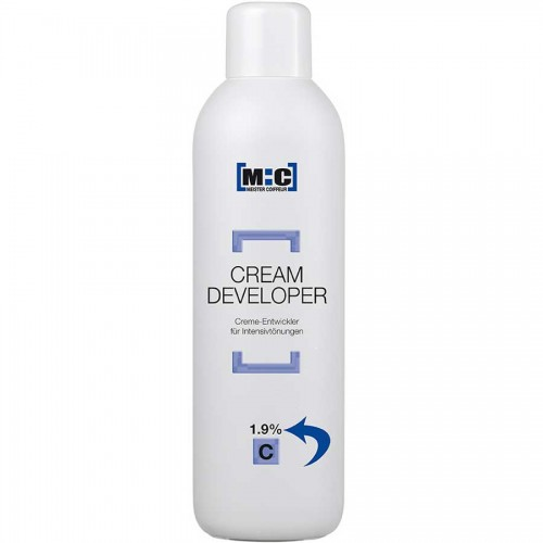 M:C Meister Coiffeur Cream Developer 1,9 C 1000 ml