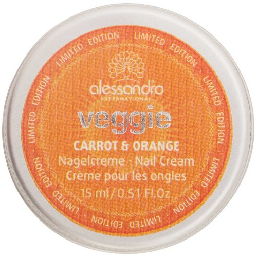 alessandro International Nagelcreme Veggie Karotte / Orange 15 ml