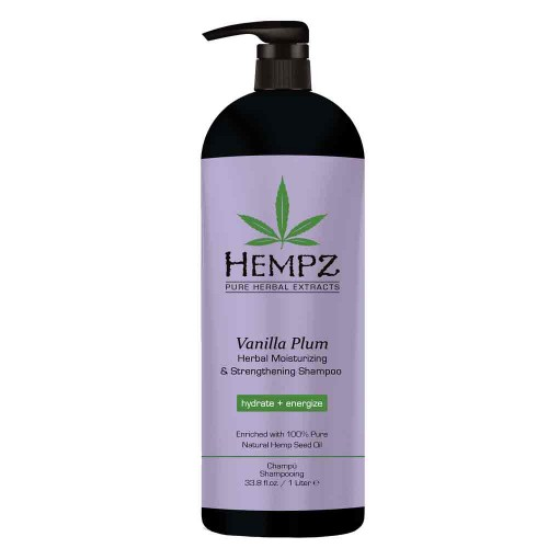 Hempz Vanilla Plum Moist & Strengh Shampoo 1000 ml