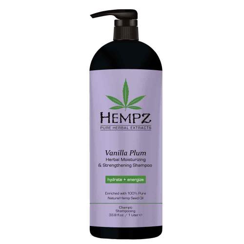 Hempz Vanilla Plum Moist & Strengh Shampoo 1000 ml