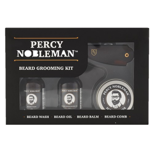 Percy Nobleman Travel Beard Grooming Kit 2.0
