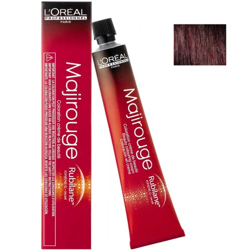 L'Oréal Professionnel Majirouge 3,66 dunkelbraun tiefes rot 50 ml